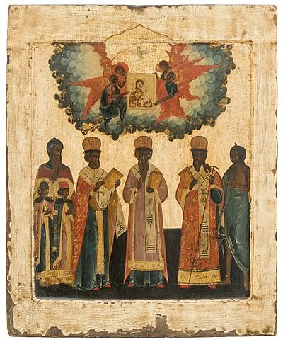 Schuler Auktionen AG - Synaxis der Heiligen Hierarchen