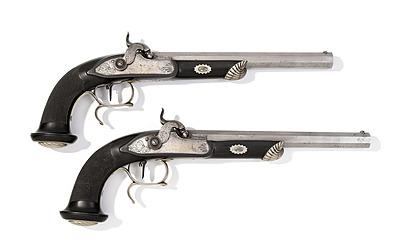 Schuler Auktionen AG - Perkussions-Pistolenpaar