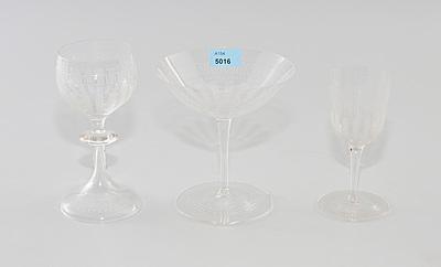 Schuler Auktionen AG - Gläserservice-Teile
