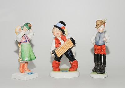Schuler Auktionen AG - Lot: 3 Figuren