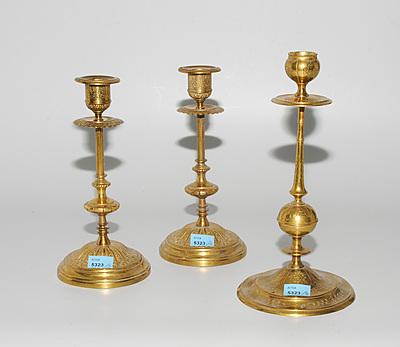 Schuler Auktionen AG - Lot: 3 Kerzenstöcke