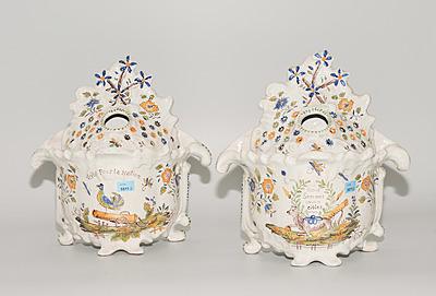 Schuler Auktionen AG - 1 Paar Deckelvasen