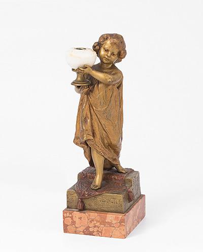 Schuler Auktionen AG - Figur/Lampenfuss