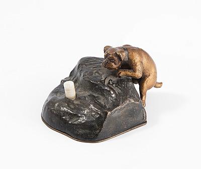Schuler Auktionen AG - Tischklingel mit Hund