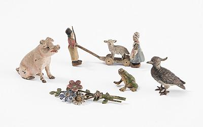Schuler Auktionen AG - Lot: 5 Kleine Figuren