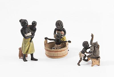 Schuler Auktionen AG - Lot: 3 Kleine Figuren