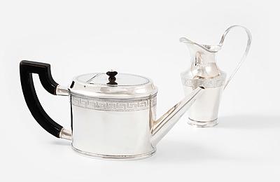 Schuler Auktionen AG - Teekanne und Cremier
