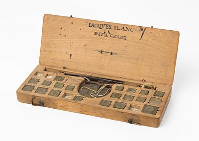 Schuler Auktionen AG - Grosse Münzwaage, J. Blanc