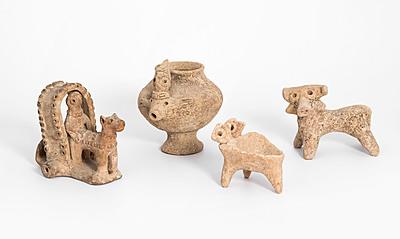 Schuler Auktionen AG - Lot: 4 syrohethitische Figuren