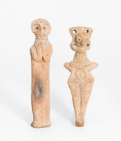 Schuler Auktionen AG - Lot: 2 syrohethitische Idole
