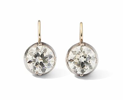 Schuler Auktionen AG - Diamant-Ohrhänger