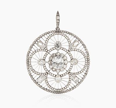 Schuler Auktionen AG - Diamant-Anhänger