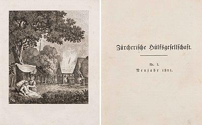 Schuler Auktionen AG - Neujahrsblatt der Zürcherischen Hülfsgesellschaft