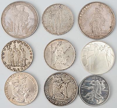 Schuler Auktionen AG - Schützentaler/Gedenkmünzen