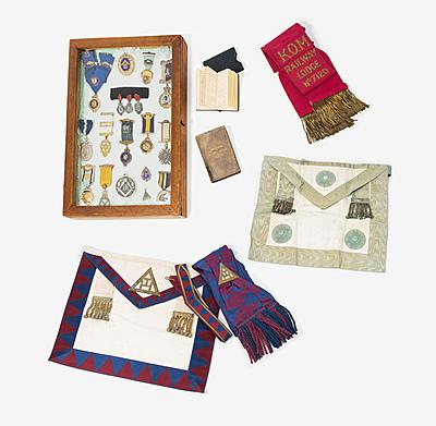Schuler Auktionen AG - Kleine Sammlung Freimaurer-Bijoux