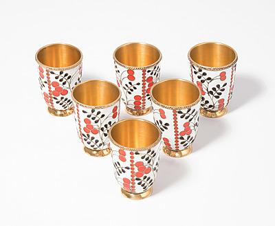 Schuler Auktionen AG - Set: 6 Wodkabecher