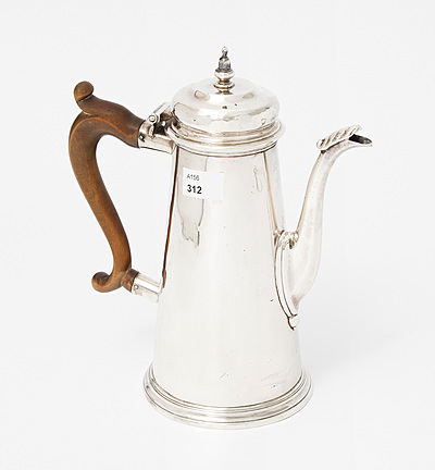 Schuler Auktionen AG - Kaffeekanne, George II