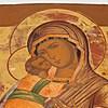 Schuler Auktionen AG - Gottesmutter von Wladimir mit vergoldetem Silberoklad