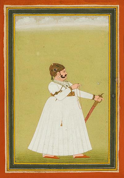 Schuler Auktionen AG - Portrait von Maharaja Madho Singh
