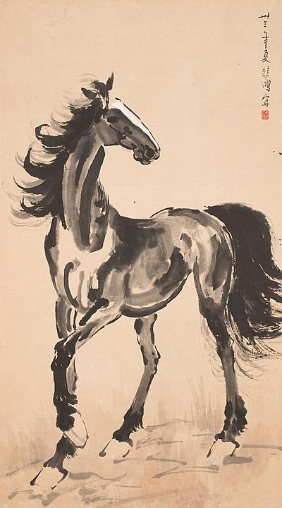 Schuler Auktionen AG - Xu Beihong (1895–1953), zugeschrieben