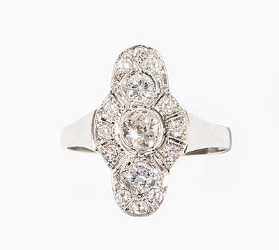 Schuler Auktionen AG - Art Déco Diamant-Ring