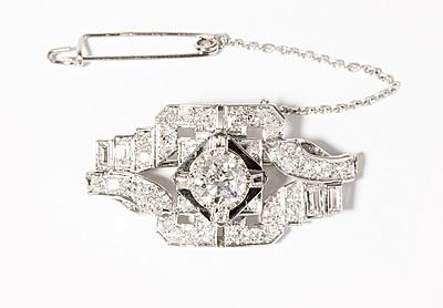 Schuler Auktionen AG - Diamant-Brosche