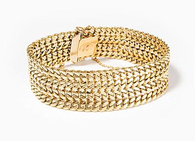 Schuler Auktionen AG - Gelbgold-Armband