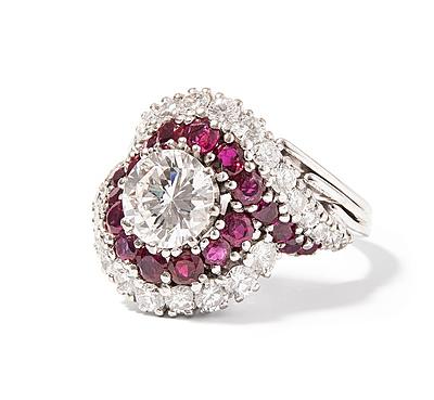 Schuler Auktionen AG - Brillant-Rubin-Ring