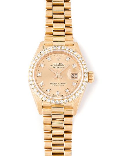 Schuler Auktionen AG - Rolex Brillant-Armbanduhr