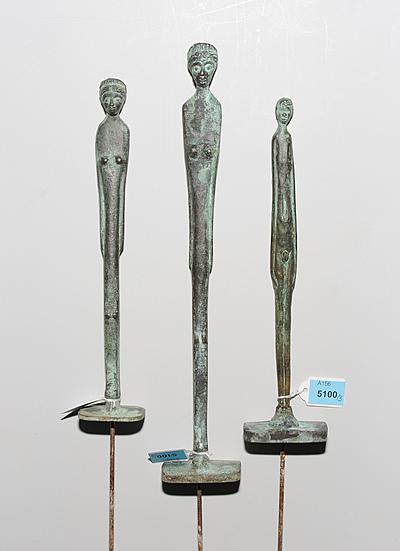 "Schuler Auktionen AG - Lot: 3 Figuren ""Ombra della sera"""