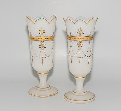 Schuler Auktionen AG - Böhmen, 1 Paar Vasen