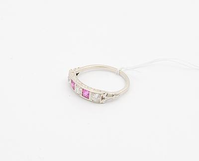 Schuler Auktionen AG - Rubin-Diamant-Ring
