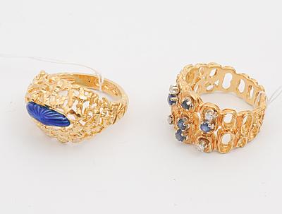 Schuler Auktionen AG - Lot: 2 Ringe