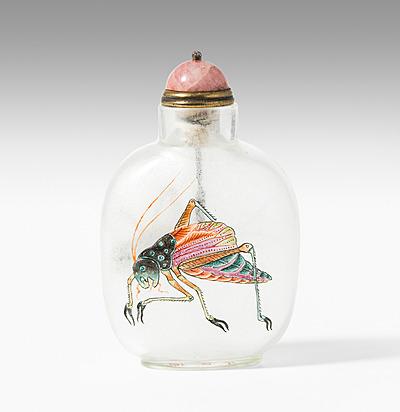 Schuler Auktionen AG - Glas Snuff Bottle