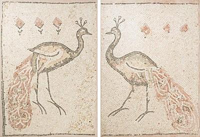 Schuler Auktionen AG - 1 Paar Mosaik-Paneele