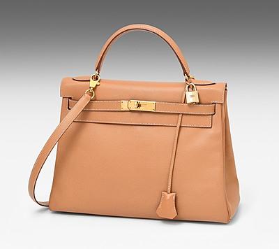"""Schuler Auktionen AG - Hermès, Handtasche """"Kelly retourné"""" 32 cm"""