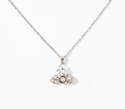 Schuler Auktionen AG - Diamant-Anhänger mit Kette