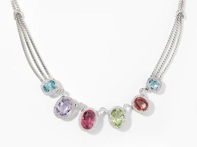 Schuler Auktionen AG - Edelstein-Diamant-Collier