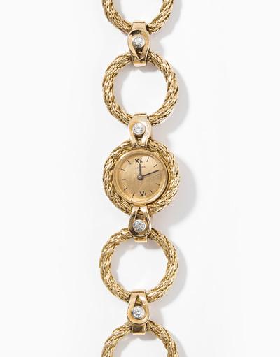 Schuler Auktionen AG - Cartier Brillant-Armbanduhr
