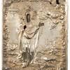 Schuler Auktionen AG - Hl. Anna mit vergoldetem Silberoklad in Kiyot