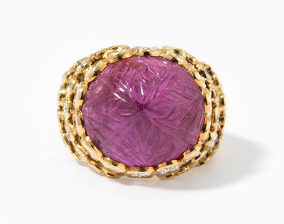 Schuler Auktionen AG - Cartier Rubin-Diamant-Ring