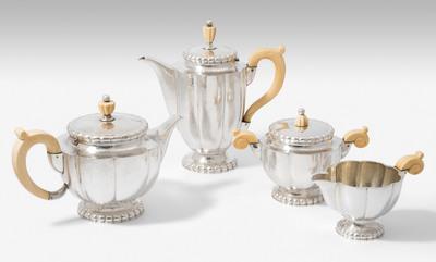 Schuler Auktionen AG - Kaffee-/Teeservice, Ernst Treusch