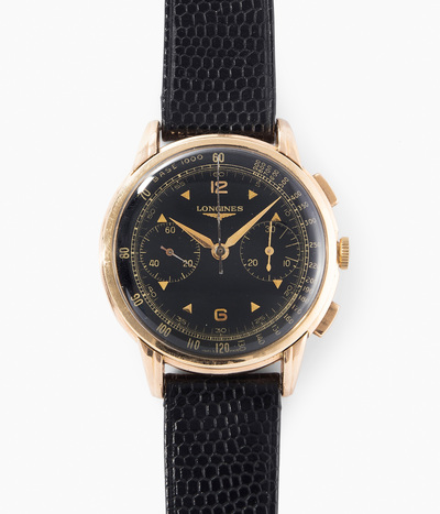 Schuler Auktionen AG - Longines Flyback Chronograph, 1940er Jahre