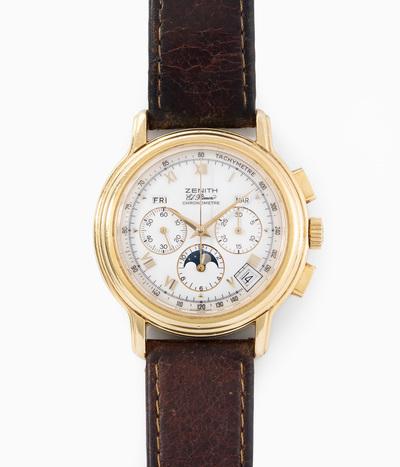 """Schuler Auktionen AG - Zenith """"El Primero"""" Chronometre, 1990er Jahre"""