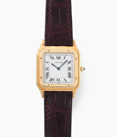 "Schuler Auktionen AG - Cartier ""Santos Dumont"", 1990er Jahre"