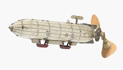 """Schuler Auktionen AG - Günthermann-Luftschiff """"Zeppelin"""""""