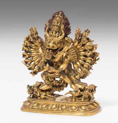 Schuler Auktionen AG - Vajrabhairava Yamantaka