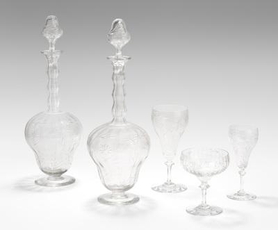 Schuler Auktionen AG - Gläserserviceteile
