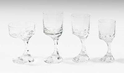 Schuler Auktionen AG - Baccarat, Gläserservice